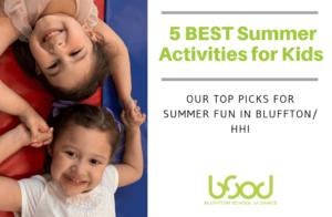best summer activities for kids in bluffton
