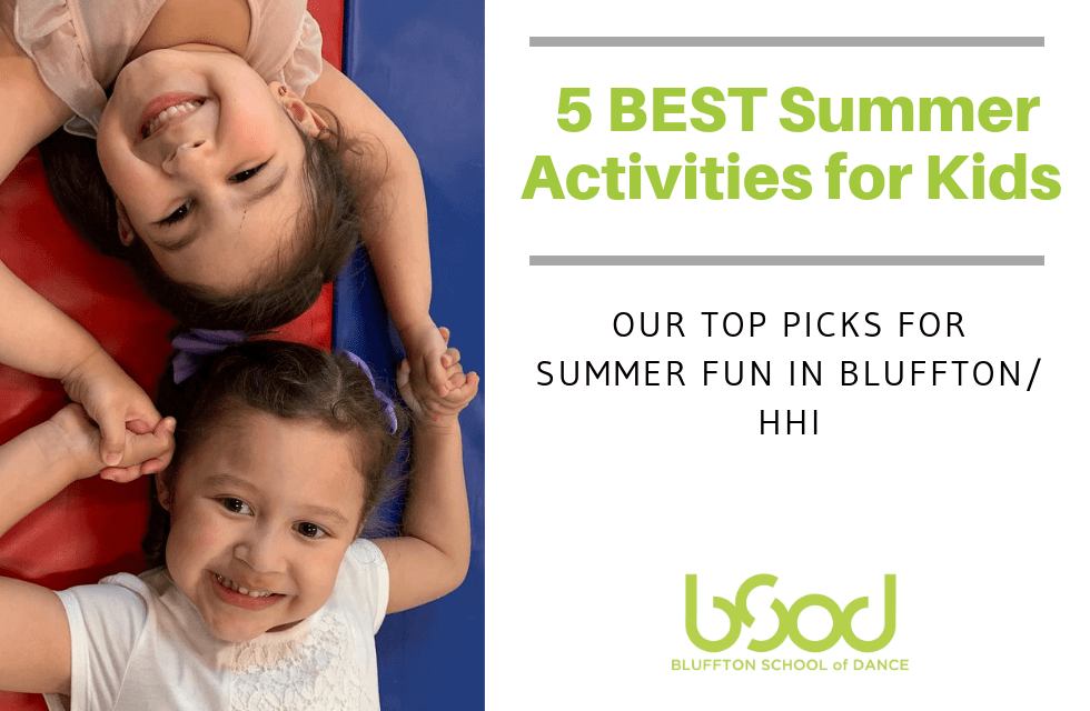 best summer activities for kids in bluffton