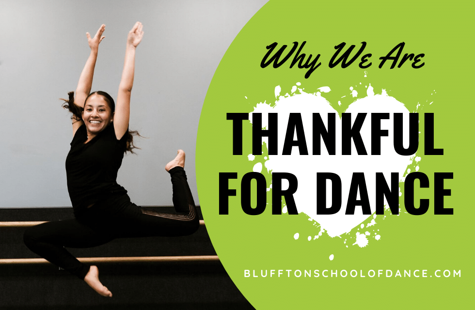thankful for dance